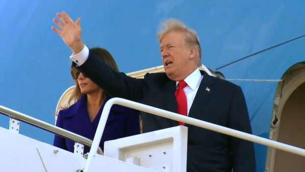 [NATL] President Trump Leaves for Tour of Asia, as Russia Investigation Looms