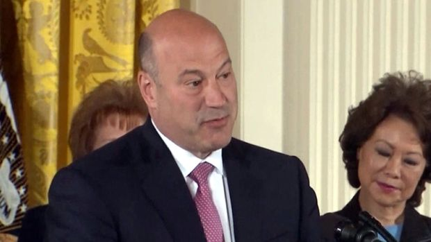 [NATL] White House Chief Economic Adviser Gary Cohn Resigns