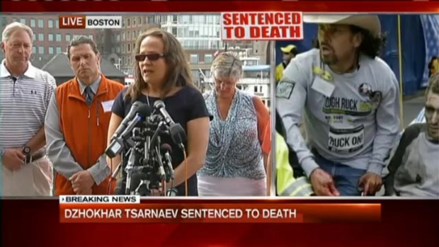 [NECN] Survivors React to Tsarnaev Death Sentence