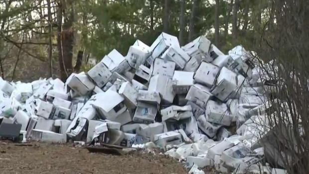 [NECN] NH Home Owner Sued for Failing to Clean Up Property