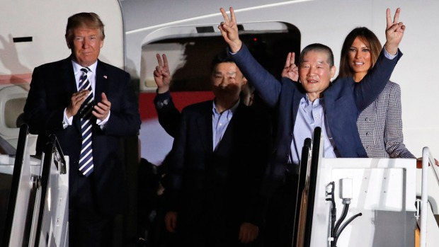 [NATL-BAY] 'It's Like a Dream': Americans Freed From N. Korea Return