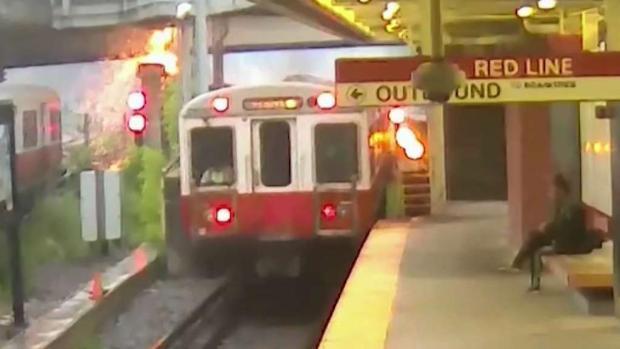 [NECN] New Video Captures Red Line Derailment