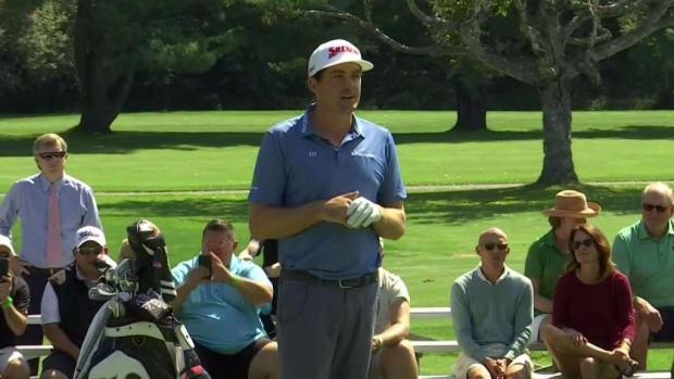 [NECN] PGA Pros Visit Vermont Before TPC Boston Tourney