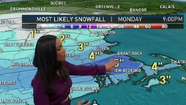 [NECN] Parts of New England Brace for Heavier Snow