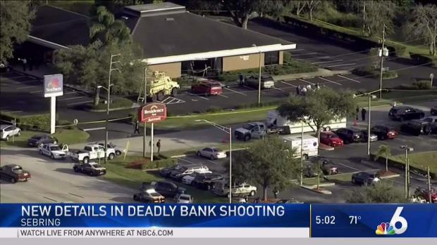 [NATL-MI] Police ID Some Victims in Sebring Bank Shooting
