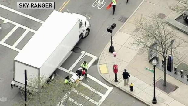 [NECN] Police Officer Injured After Being Struck by Vehicle in Jamaica Plain