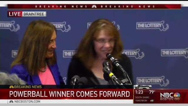 [NATL] Powerball Winner Talks Lucky Numbers, Quitting Job