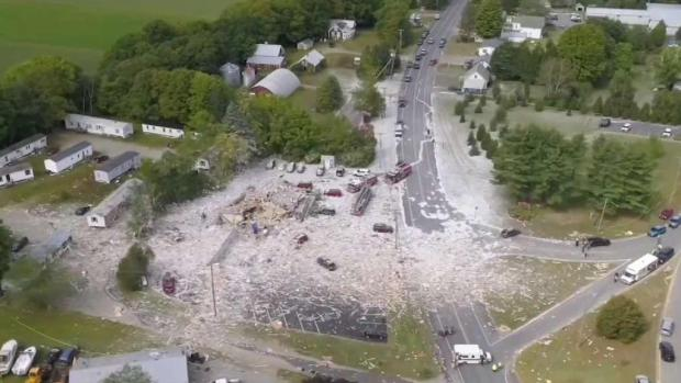 [NECN] Probe Begins After Maine Explosion Kills Fire Capt.