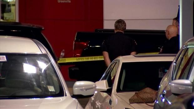 Raw Video: Shooting Investigation at Greenville Nissan Dealership