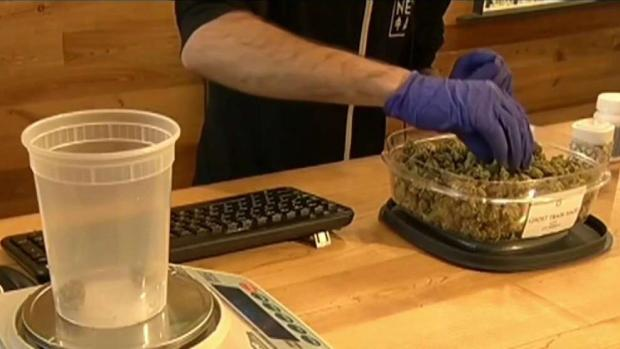 [NECN] Recreational Pot Sales Set to Start Next Week