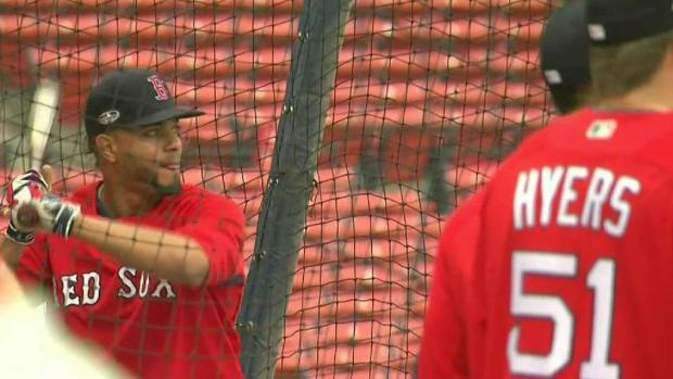[NECN] Red Sox Hold Brief Workout at Fenway Park