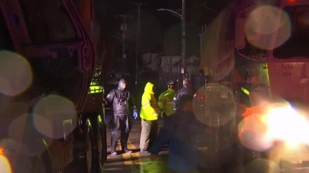 [NECN] Rising Water Traps Dozens in Quincy