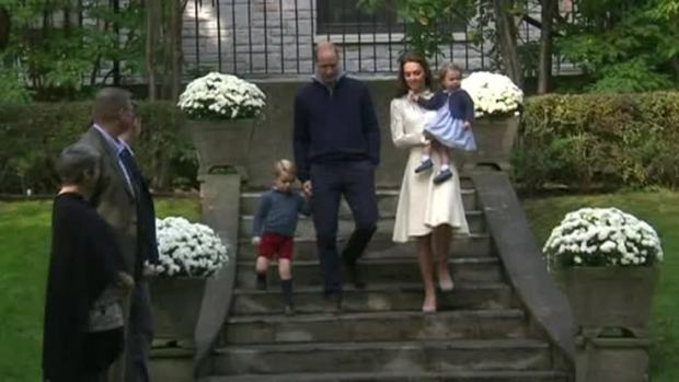 [NATL] Royals' Family Children Enjoy Canadian Tour