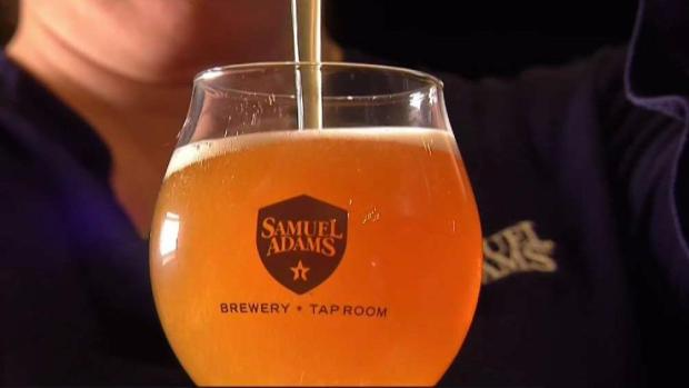 [NECN] Sam Adams Brewery Opens New Tap Room