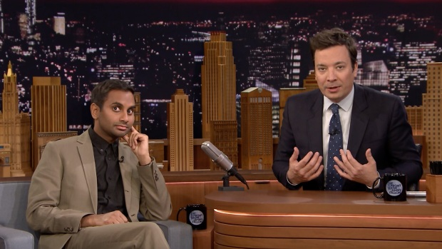 [NATL] 'Tonight': Ansari, Fallon Dramatically Read Yelp Reviews