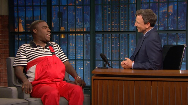 Late Night: Tracy Morgan on Why God Sent Him Back Down to Earth