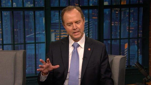 [NATL] 'Late Night': Rep. Adam Schiff Explains Why a Grand Jury Matters