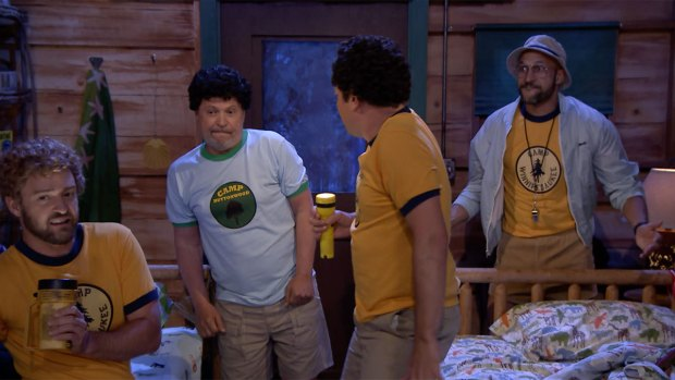 [Natl]'Tonight': Camp Winnipesaukee With Justin Timberlake, Keegan-Michael Key, Billy Crystal