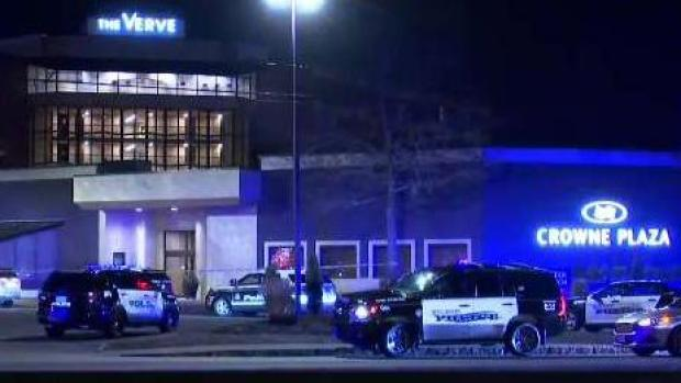 [NECN] Search for Gunman at Natick's Crowne Plaza Hotel
