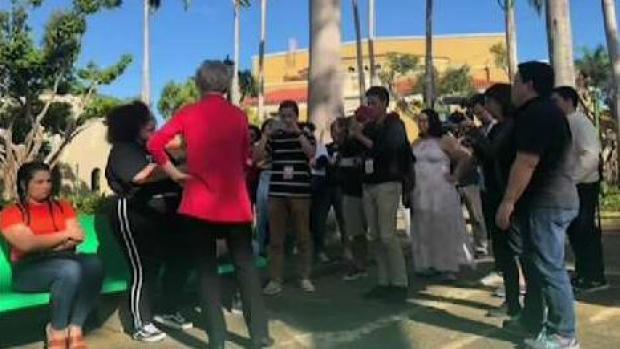 [NECN] Sen. Warren Visits Puerto Rico