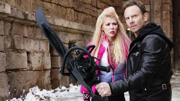 [NATL] 'Sharknado' Stars Ian Ziering, Tara Reid Talk Franchise's Cult Status and Possible 'Sharknado 6'