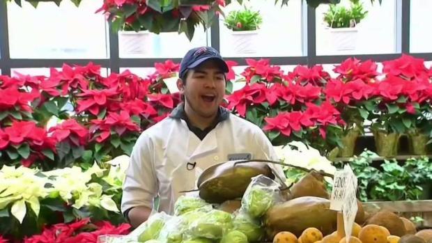 [NECN] Singing Grocer Raises Money to Attend Berklee