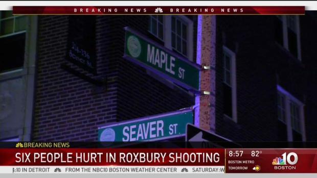 [NECN] Six Injured in Roxbury Shooting