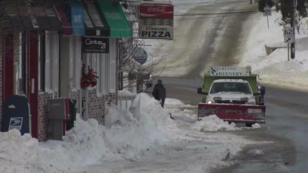 [NECN] Snow Cleanup Continues in Sterling