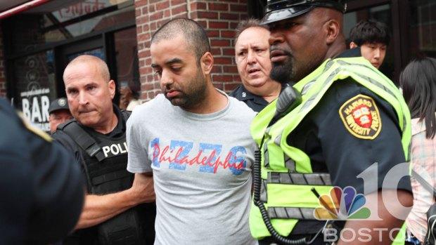 [NECN] Murder Suspect Arrested in Harvard Square After Interstate Manhunt