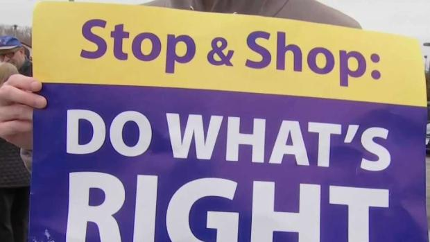 [NECN] Stop & Shop Workers Strike for 5th Day