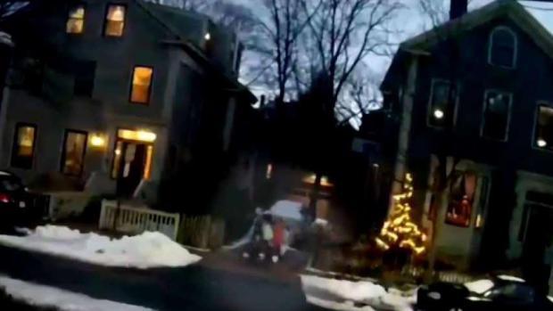 [NECN] Surveillance Video Shows Man Following 2 Pre Teens