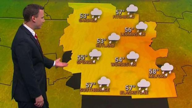 [NECN] Temperatures For Monday Will Get Much Cooler