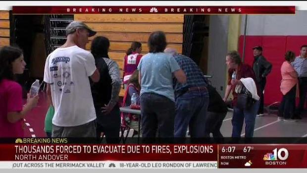 [NECN] Thousands Forced to Evacuate After Mass. Explosions