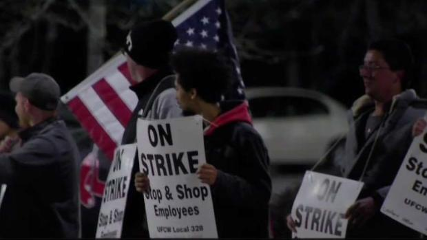 [NECN] Thousands of Stop and Shop Workers on Strike