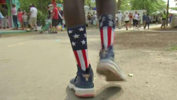 [NECN] Thousands on the Esplanade for Pops Spectacular