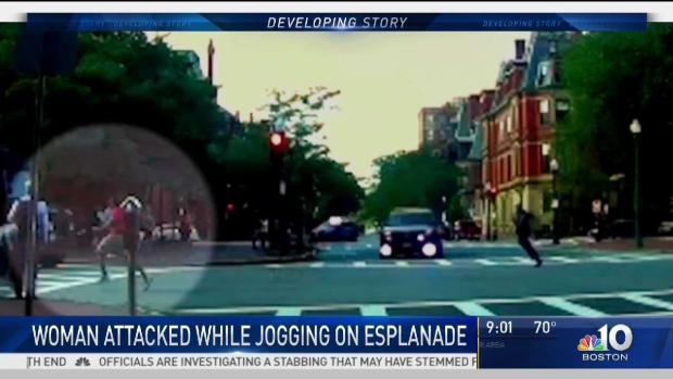 [NECN] Trooper Chases Down Suspected Esplanade Attacker