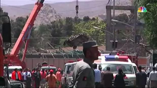 [NATL] Truck Bomb Kills Scores in Kabul Diplomatic Area
