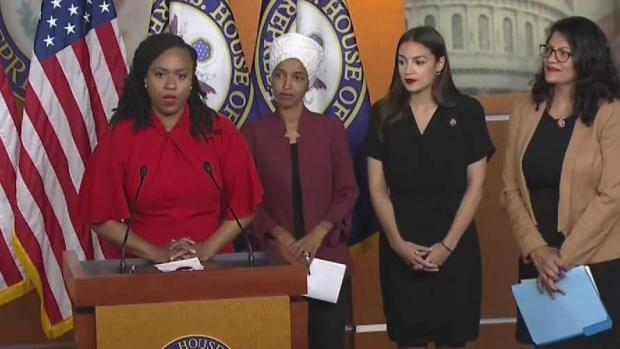 [NECN] Trump's Nativist Tweets Bring Response From 'the Squad'