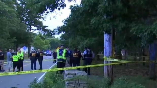 [NECN] Two Officers Shot in Falmouth Expected to Recover