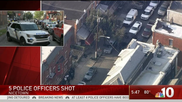 Listen to the Moment Shooting Broke Out in North Philadelphia