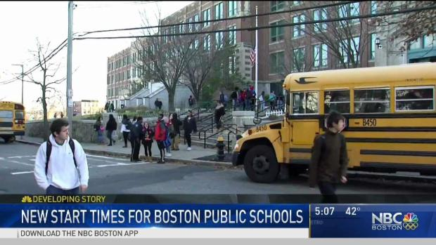 [NECN] Boston School Committee Approves New Times