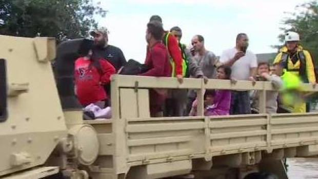 Evacuations Continue in Parts of Texas