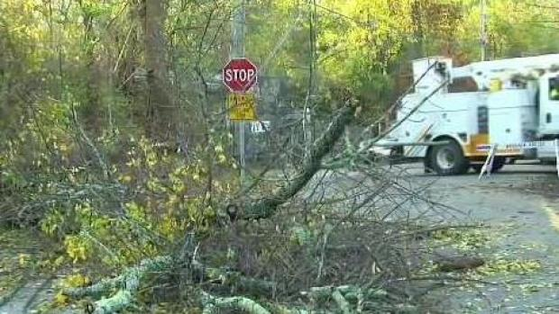 [NECN] Hundreds of Thousands Remain Without Power While Storm Clean Up Continues