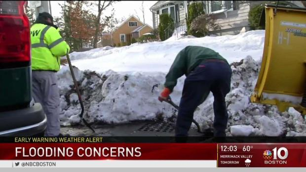 [NECN] Flooding Concerns Amid High Temps