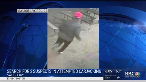 Suspects Sought in Attempted Armed Carjacking