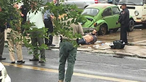 Witnesses Describe Gunshots, Chaotic Scene During Suspect Arrest