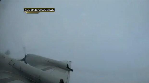 [NATL-NY] Time-Lapse Shows Plane Flying Into Eye of Hurricane Florence