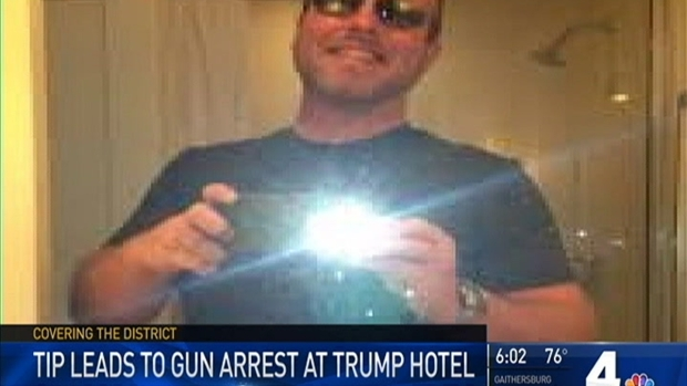 [NATL-DC] Trump Hotel Guest Arrested After Guns, Ammunition Found in His Car