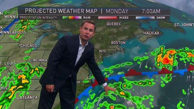 [NECN] Cool Air Overnight, Possible Showers Tomorrow