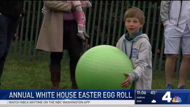 [NATL-DC] White House Easter Egg Roll Gets Underway